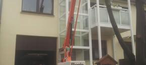 Fahrstuhl außen Gulliver (4)